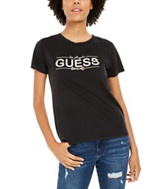 GUESS Cotton Graphic T-Shirt