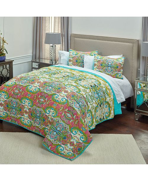 Rizzy Home Riztex USA Carnivalle Quilt Collection