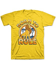 Toddler Boys The Lion King Born To Rule T-Shirt