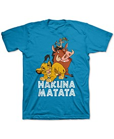 Toddler Boys The Lion King Hakuna Matata T-Shirt