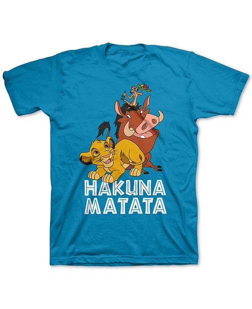 Disney Toddler Boys The Lion King Hakuna Matata T-Shirt