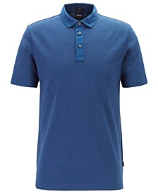 BOSS Men's Plummer 06 Slim-Fit Jacquard Polo Shirt