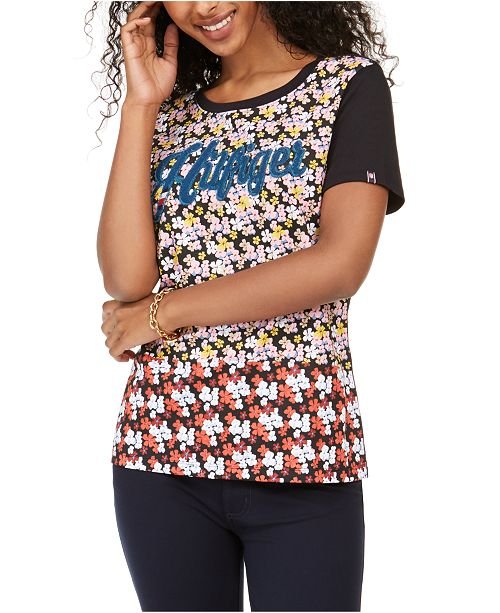 Tommy Hilfiger Cotton Graphic T-Shirt, Created for Macy's