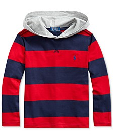 Toddler Boys Hooded Jersey T-Shirt