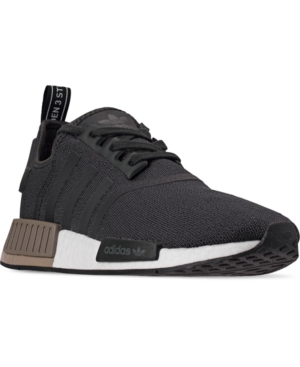 new arrival 45a1a a73ee Adidas Men's Nmd R1 Casual Sneakers From Finish Line in Carbon/Carbon/Trace  Cargo