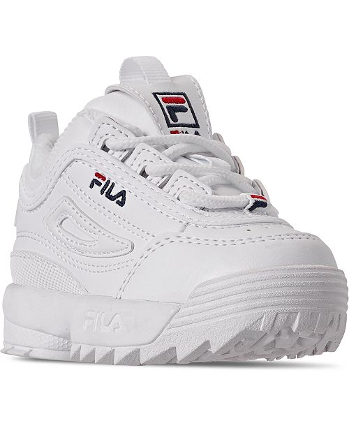 Fila Toddler Boys Disruptor 2 Casual Sneakers from Finish Line