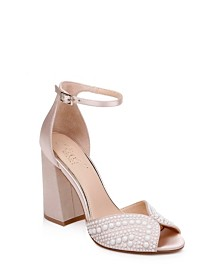 Jewel Badgley Mischka Serenity Sandals
