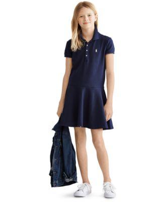 Big Girls Polo Dress