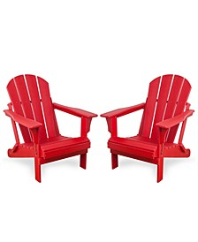 Outdoor Adirondack Chair, Set of 2