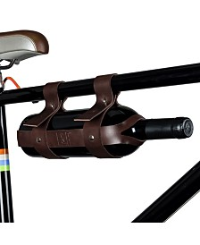 Foster & Rye Polyurethane Leather Bicycle Wine Carrier
