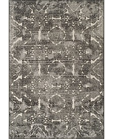 "CLOSEOUT! Logan Lo4 Pewter 7'10"" x 10'7"" Area Rugs"