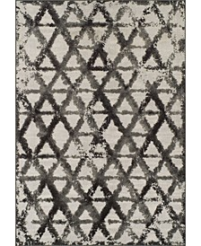 CLOSEOUT! Logan Lo11 Pewter 5'3 X 7'7 Area Rugs