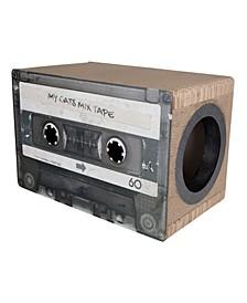 Mix Tape Cardboard Cat Scratcher