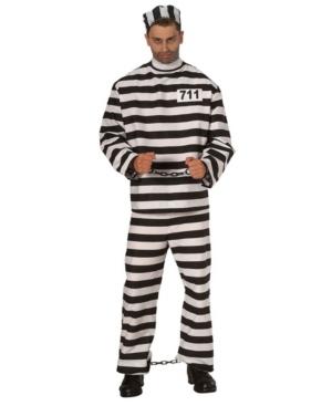 Men's Convict Adult Costume
