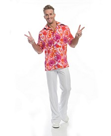 BuySeasons Men's California Dreamin Disco Shirt