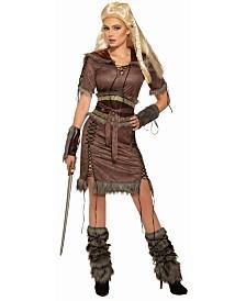 BuySeasons Women's Viking Shield Maiden Adult Costume