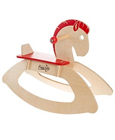 Rocking Horse Ride-on Toy for Children-Classic Wooden Rocker