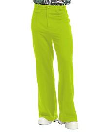 BuySeasons Men's Disco Pants Lime