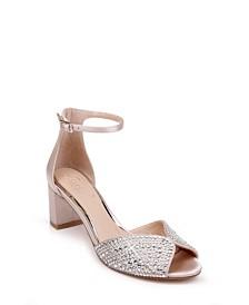 Jewel Badgley Mischka Sycamore Evening Sandals