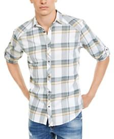 I.N.C. Men's Marc Plaid Shirt, Created for Macy's