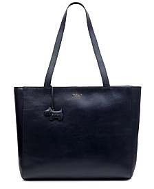 Radley London Large Leather Zip Tote