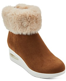 Abri Wedge Booties, Created For Macy's