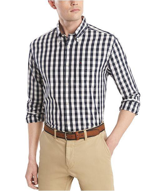 Tommy Hilfiger Men's Austin Classic-Fit Check Shirt