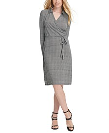 Tie-Front Wrap Dress