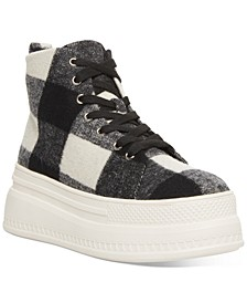 Chuckle Platform High-Top Sneakers