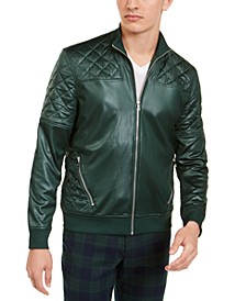 INC Men's Quilted Bomber Jacket, Created for Macy's
