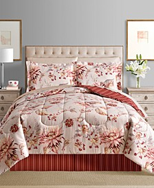 CLOSEOUT! Viola Reversible 8-Pc. Comforter Sets