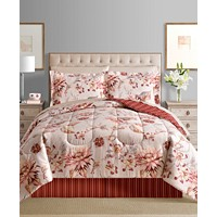 Deals on 8-Pc. Fairfield Square Collection Reversible Comforter Sets