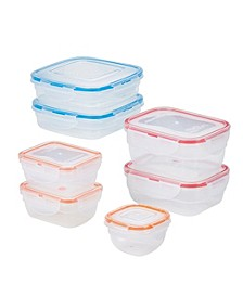 Easy Essentials Color Mates Assorted 14-Pc. Food Storage Container Set