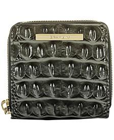 Mini Suri Melbourne Embossed Leather Wallet