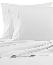 Nautica Solid Cotton Percale Twin Sheet Set