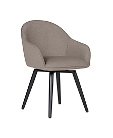 Dome Swivel Arm Chair