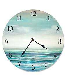 "Stupell Industries Serene Waters Vanity Clock, 12"" x 12"""