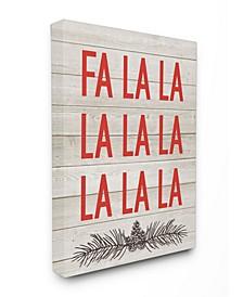 Christmas Deck the Halls Fa La La Art Collection