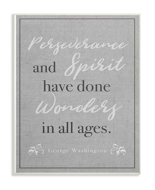 "Stupell Industries Perseverance and Spirit Wall Plaque Art, 10"" x 15"""