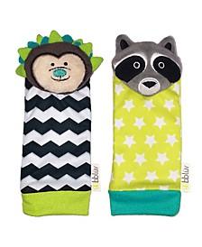 Bbluv Duo Hedgehog Racoon Foot Finders