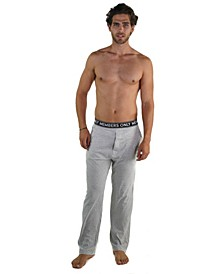 Jersey Knit Pant with Logo Elastic