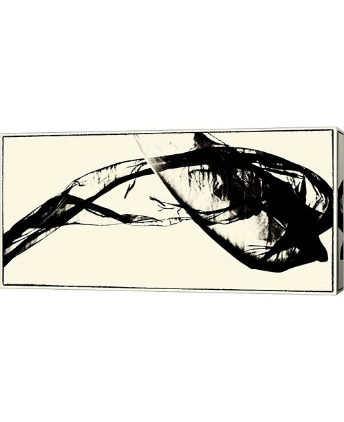 """Metaverse Silk Ink V by Tang Ling Canvas Art, 32"""" x 16"""""""