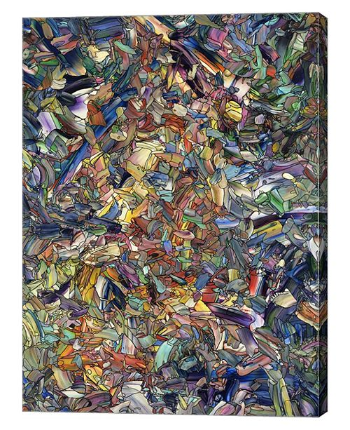 """Metaverse The Warmth Within by James W. Johnson Canvas Art, 26.5"""" x 36"""""""