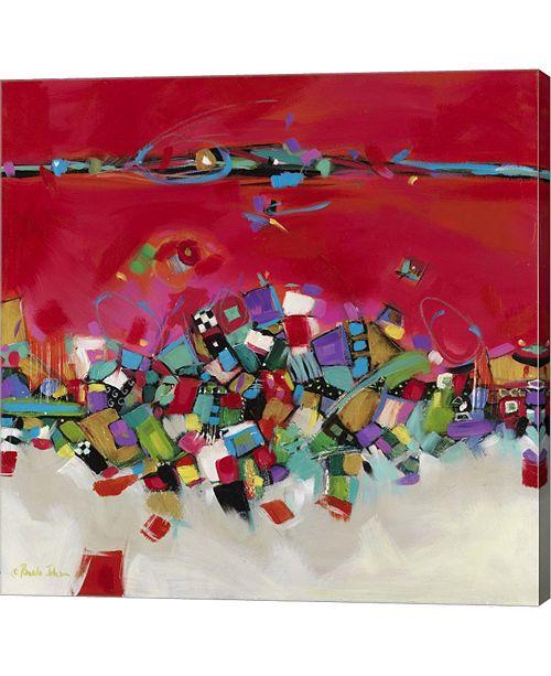 """Metaverse Fast Car I by Pamela A. Johnson Canvas Art, 36"""" x 36"""""""