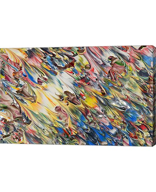 """Metaverse Abstract 22 by Mark Lovejoy Canvas Art, 30.25"""" x 20"""""""
