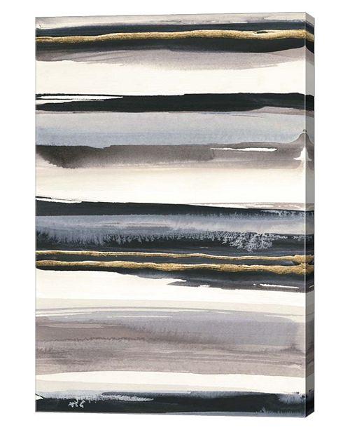 "Metaverse Gilded Gray IV by Chris Paschke Canvas Art, 24"" x 36"""