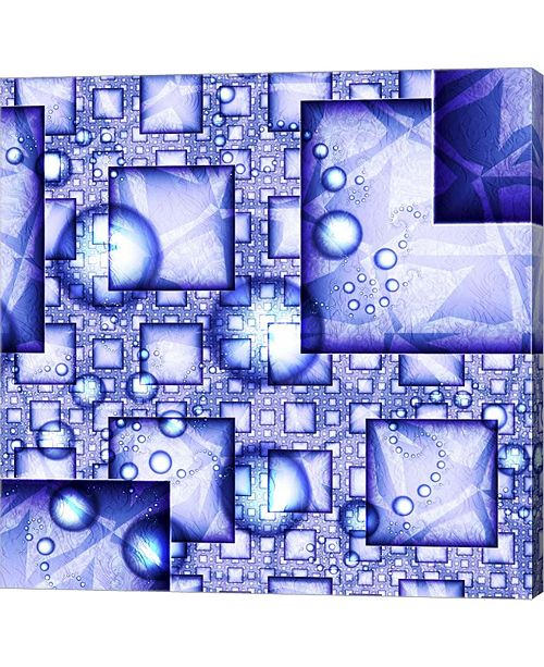 "Metaverse Cubes and Spheres by Fractalicious Canvas Art, 24"" x 24"""