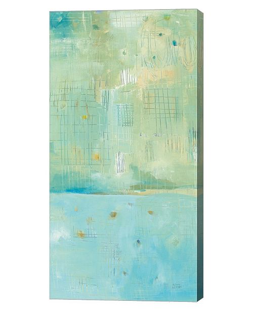 """Metaverse Dreaming of The Shore II by Melissa Averinos Canvas Art, 12"""" x 24"""""""