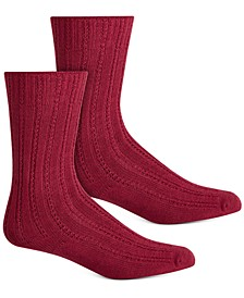 Women's Temp Tech Tuck Stitch Ribbed Socks