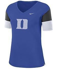 Nike Women's Duke Blue Devils Breathe V-Neck T-Shirt